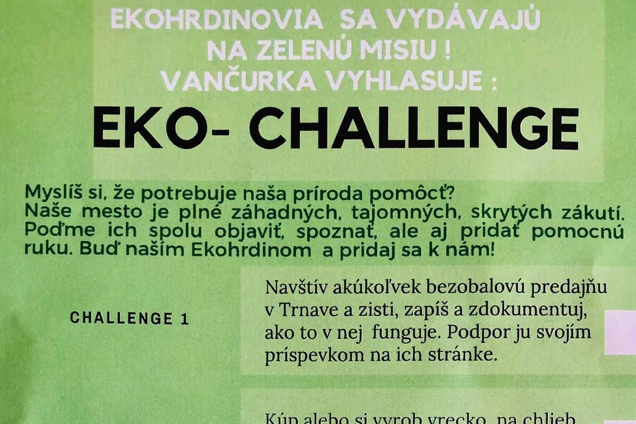 Eko-challenge pre Trnavu